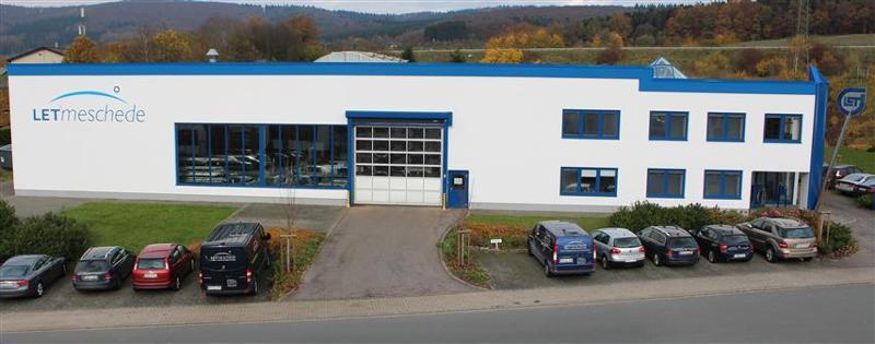 Firmensitz der LET Meschede GmbH in Meschede