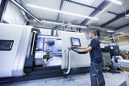 Machine Tool at SITEMA production in Germany