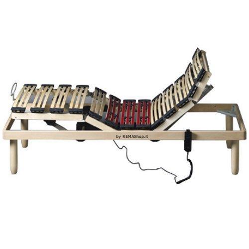 Rete in legno a doghe di faggio mod. DAMPEST LUX motorizzata