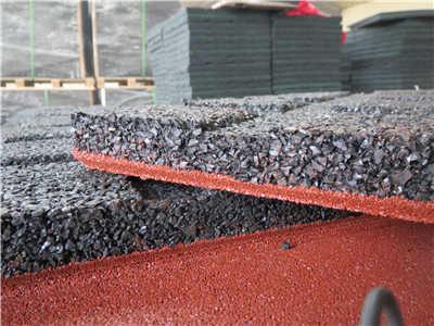 outdoor rubber tiles