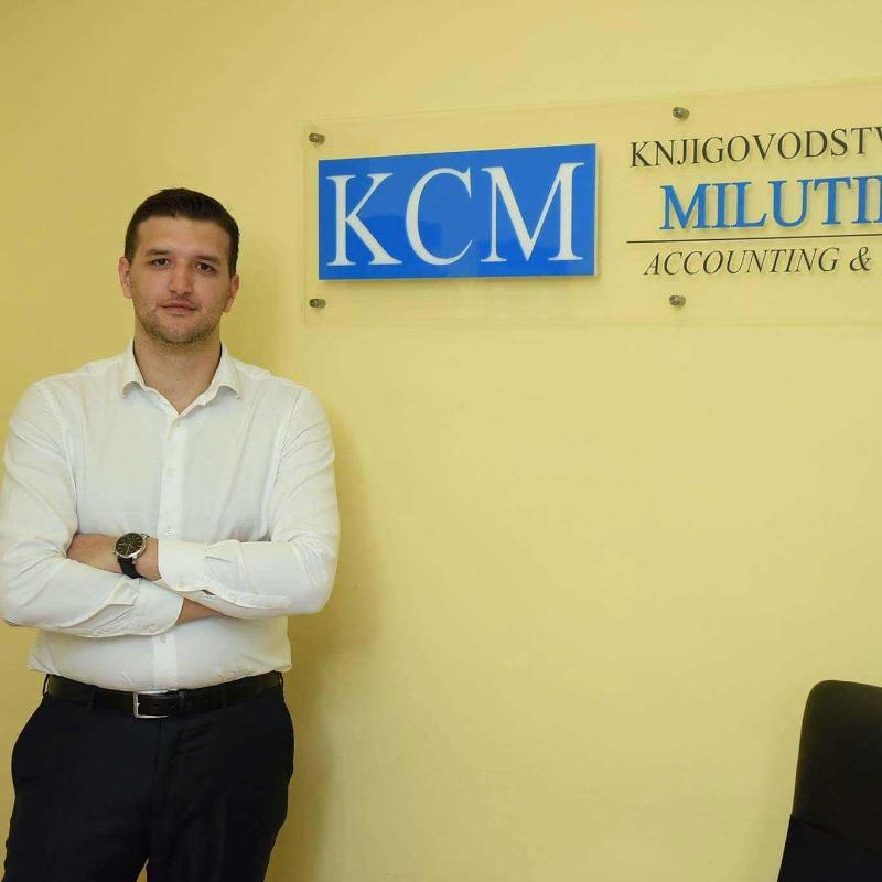 Milos Milutinović - CEO