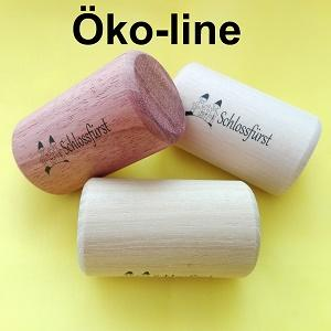 Our eco line is characterized by natural wood percussions. Our rattles and claves are therefore suitable for small children.