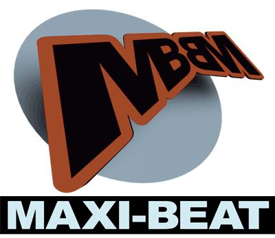 Maxi-Beat Logo, Tonstudio Wiesbaden, Mainz, Frankfurt, Bad Kreuznach, Koblenz