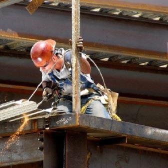 trabajos verticales: soldadura en altura