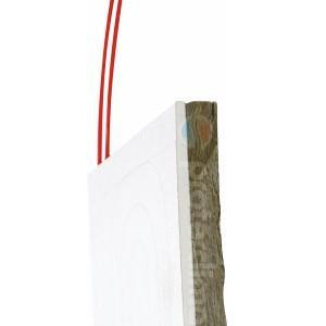 Pannello radiante in Cartongesso con isolamento in lana di roccia, personalizzabile a secondo le richieste del cliente.