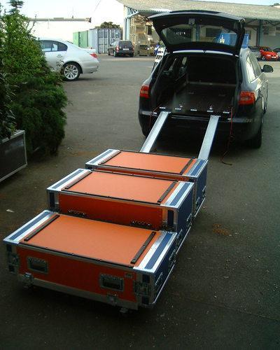 case in the car