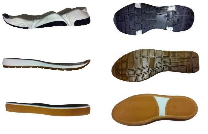 Moldes de solas para calçado - Bicolor (2)