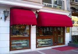 classic hinged awning