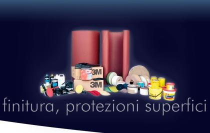 Una vasta gamma di abrasivi, lucidanti e  accessori per la levigatura, disponibili in molteplici marche per tutti gli usi.