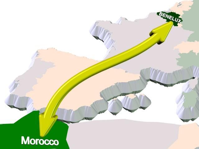 Transport Benelux Maroc