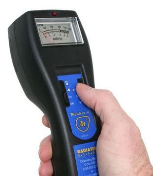 4 & 4EC Radiation Detector - a ß y x Geiger Counter