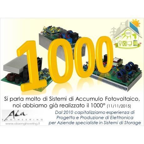 1000° Sistema Elettronico per Impianti di Accumulo Fotovoltaico