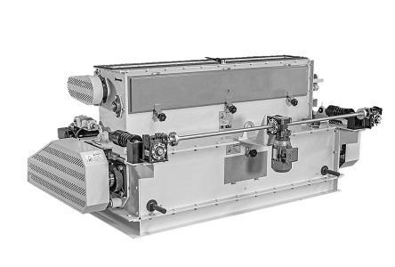 L'émietteur de granulés Graf Equipment est conçu pour émietter les granulés et pour réduire leur taille.  L'émietteur est aussi développé pour des systèmes de ponçage à plusieurs niveaux.