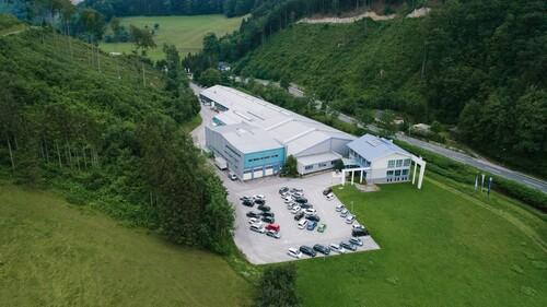 Unser Betriebsgelände in Hainfeld (AUT)