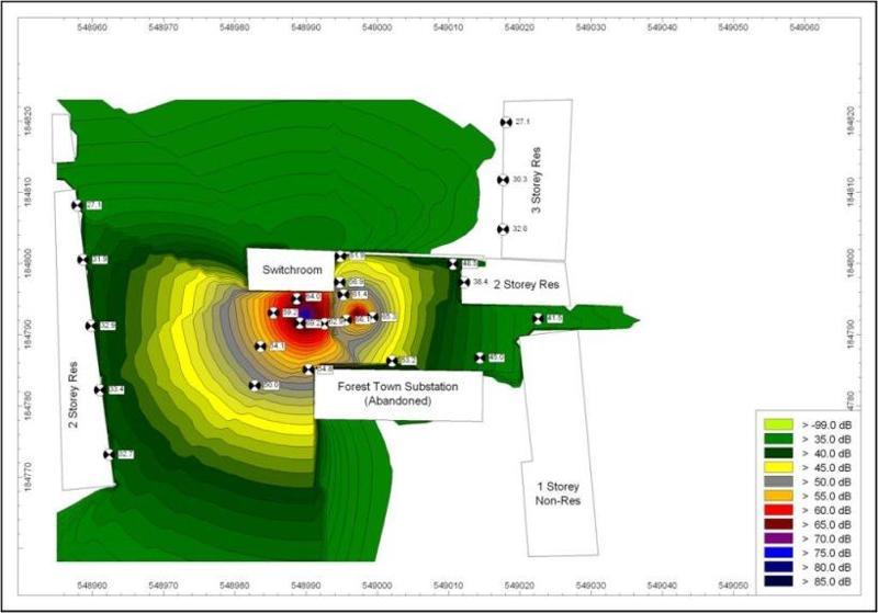 3D Noise Map