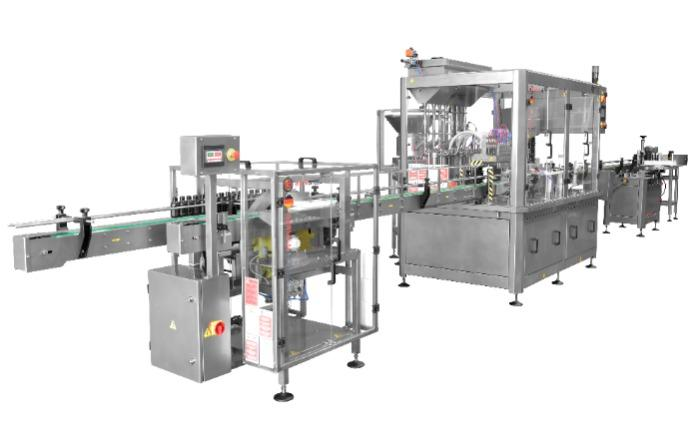 Liquid Blowing, Filling, Capping, Labeling Machine