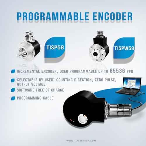 Programmable encoder up to 65536 ppr