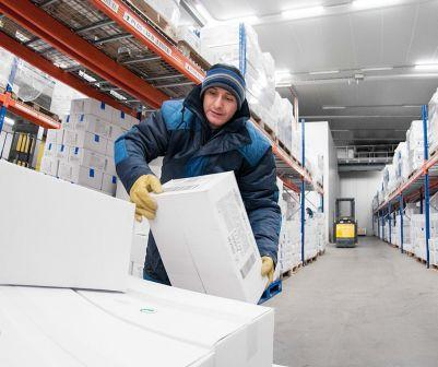 Especially developed clothing for cold storages warehouses and for use in the food processing industry.
