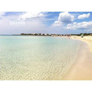 """Punta Prosciutto, definita """"I Caraibi del Salento"""", è una frazione di Porto Cesareo nel Salento e ha un mare con una meravigliosa acqua cristallina e purissima sabbia."""