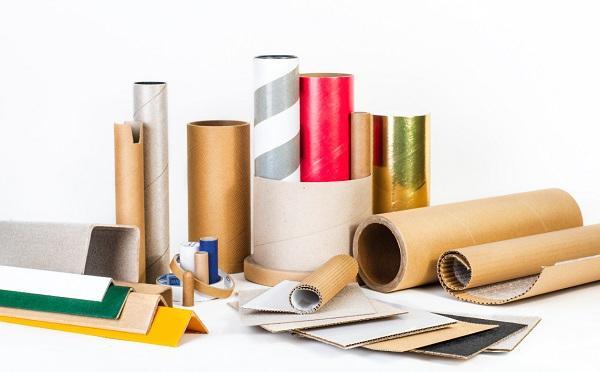 Gama de embalaje industrial de cartón de la empresa.