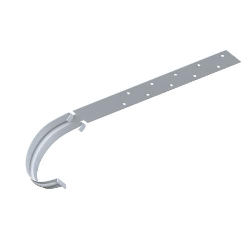 Rinnenhalter Metall (weiß)