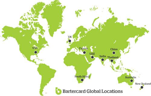Bartercard currently has 75 offices in 10 countries and is totally committed to extend its reach around the world for the benefits of its members.