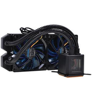 We manufacturing for several customers, like Fractal and Cooler Master an individual AIO PC Water Cooling System. The Eisberg AIO system is still selling under our own brand name Alphacool.