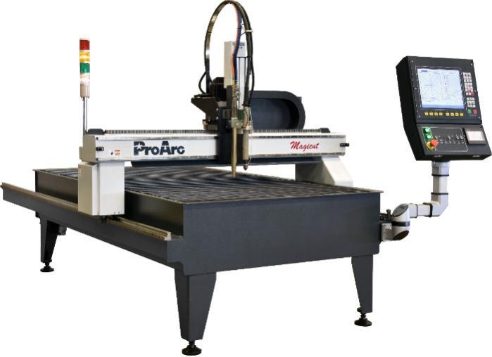 Compact CNC plasma cutter, flame cutting machine.