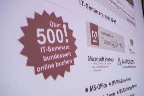 500 IT-Seminare, bundesweit