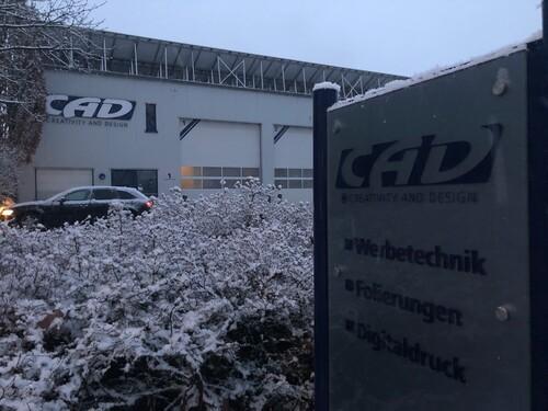 Außenansicht Firmengebäude der Firma CAD