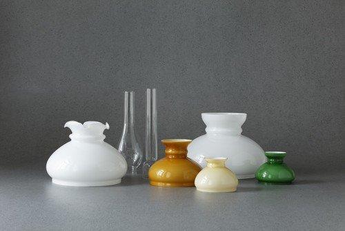 Petrolampenglas in vielen Ausführungen