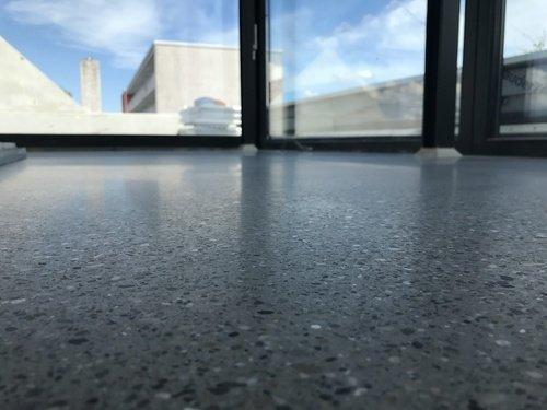 Betonboden geschliffen und poliert