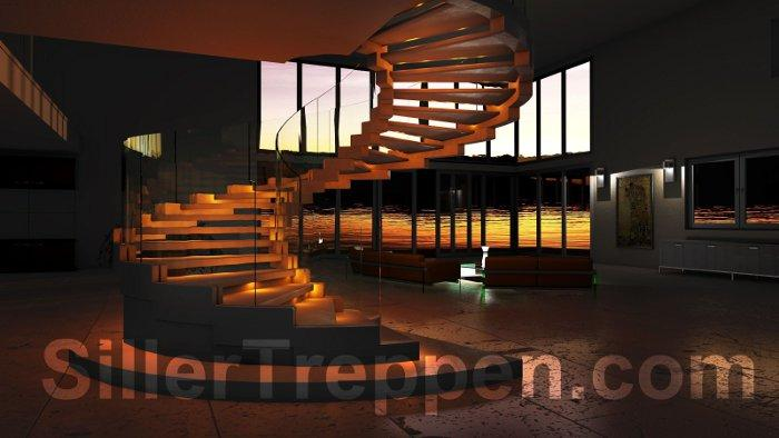 Stairs modern cobra