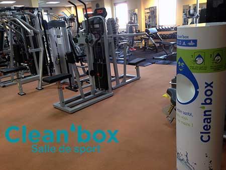 Clean'box Salle de Sport