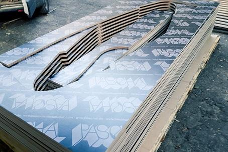 plywood formwork surfaces