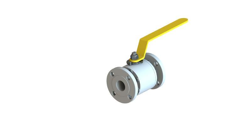 NFG split body floating ball valve