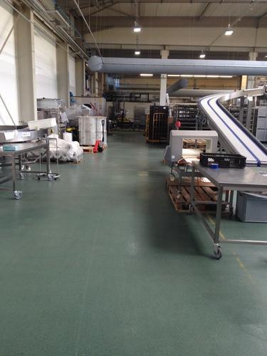 Plastifloor Boden in einer Bäckerei