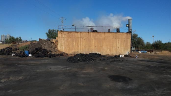Fabricación de carbón vegetal