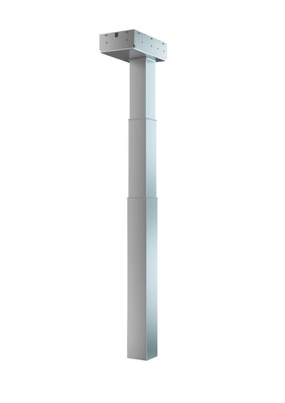 Die elektrischen Hubsäulen von SUSPA ermöglichen einen mühelosen Wechsel der Arbeitspositionen, zwischen Sitz- und Stehposition.