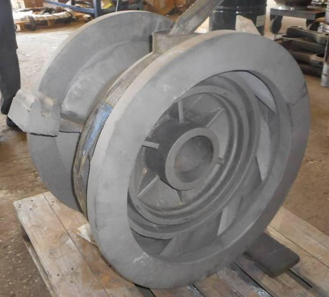 Cast stainless steel 316 with essay 400klg.