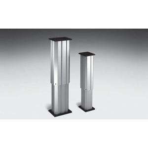 La gamme LP2 de colonnes télescopique de levage vertical est idéale pour positionner verticalement des charges importantes. Effort maximum 6300 N.