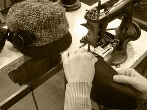 Produzione cappelli in lana, tessuto, paglia e filati vari