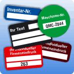 Mit Inventaretiketten das Eigentum kennzeichnen und somit Missbrauch vorbeugen und die Betriebsordnung optimieren. Individuelle Eigentumsetiketten auch mit Barcode kostengünstig direkt vom Hersteller!