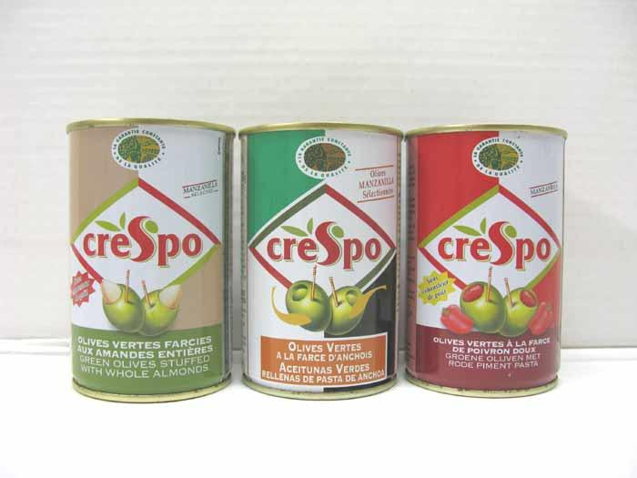 Gamme boîtes 120g olives farcies