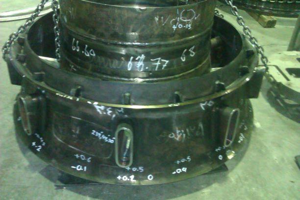 CNC machining of Turbine equipment
