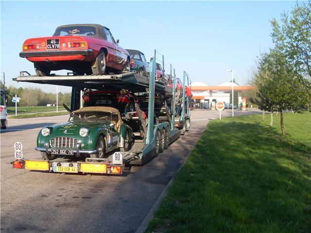 Un transport de qualité pour des véhicules de prestige
