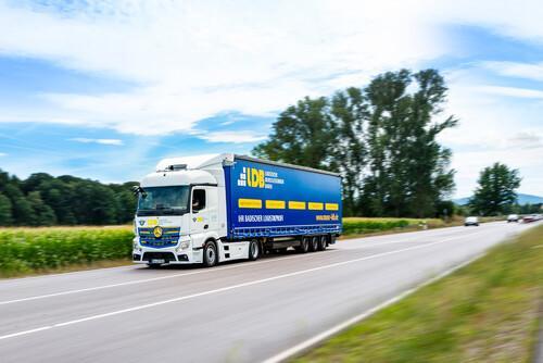 Transport-Logistik: Megatrailer