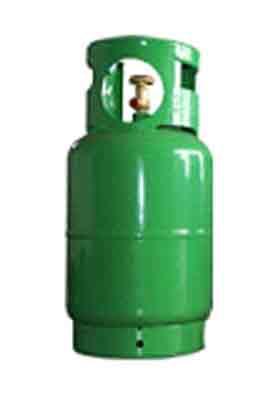 BOMBOLA GAS REFRIGERANTE DA 12LT (R134a,R152a,R404a,R407c,R410a,R507,DME)