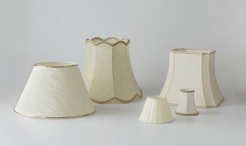 klassische Stofflampenschirme