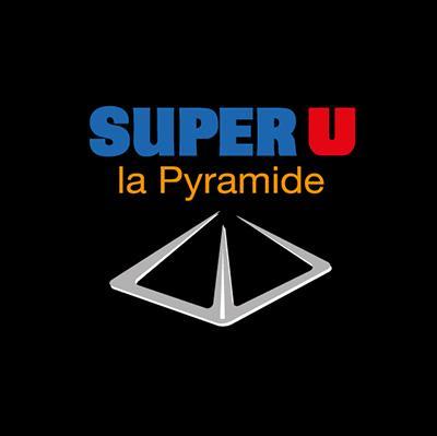 Création du logo dU Super U de Trélazé-la Pyramide